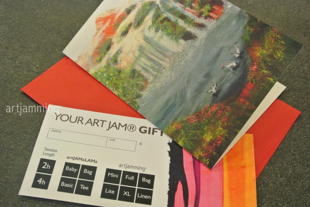 ART JAM ® Gift Card : Waterfalls