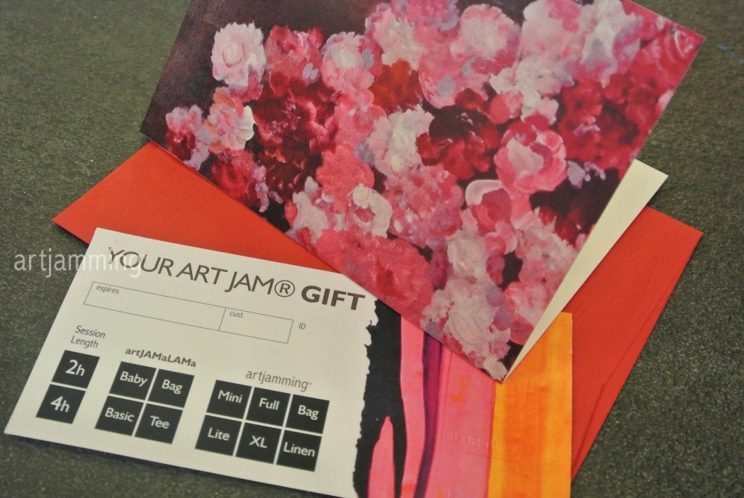 ART JAM ® Gift Card : Peonies