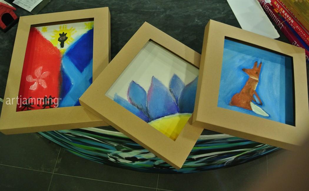 artJAMaLAMa Baby ART JAM® canvas 2-hour sessions X 10 Vouchers