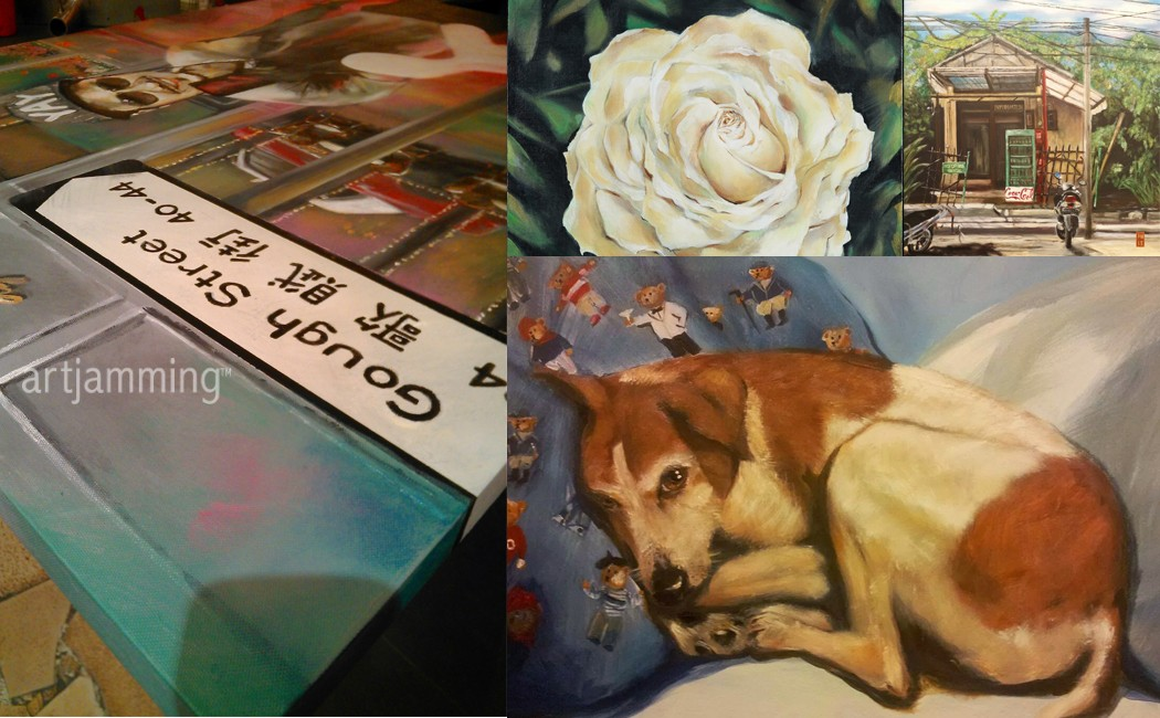 ART JAM® My Masterpiece Workshop + Custom Frame Voucher