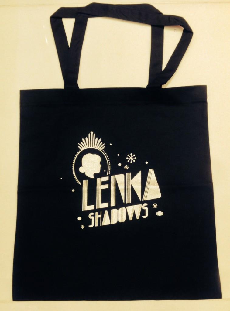 Lenka Shadows Tote Bag