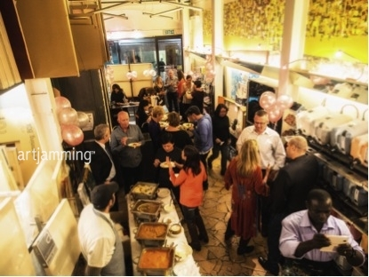 Party to Remember : indulging in food, talk and creativity