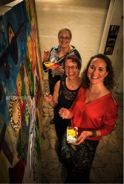 Party to Remember : The family who ART JAM ®  together