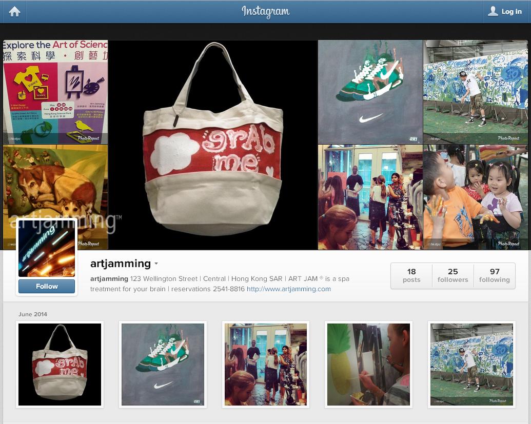 artjamming ™ 的 instagram 帳戶