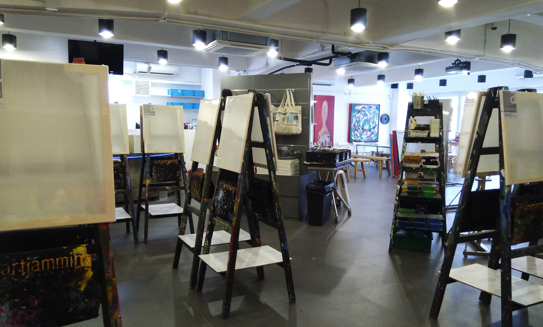 artjamming 4D studio interior