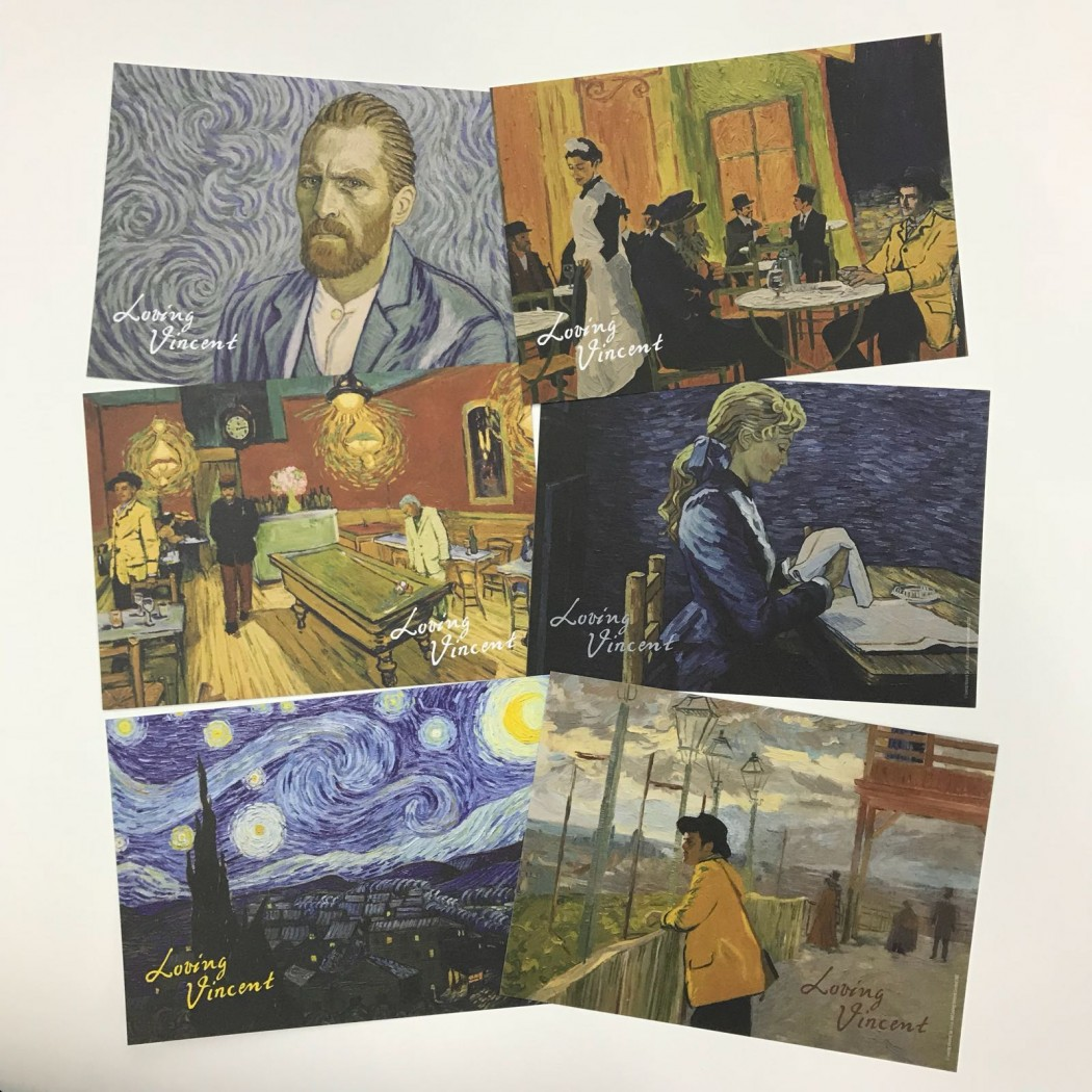 Loving Vincent postcard set