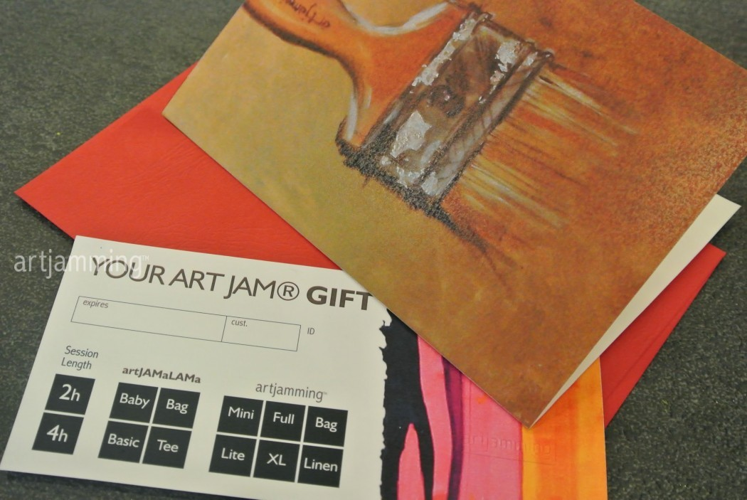 ORIGINAL ART JAM® : Full  gift voucher