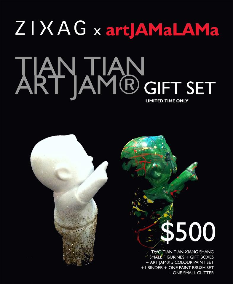 TTXS ART JAM ® Gift Set