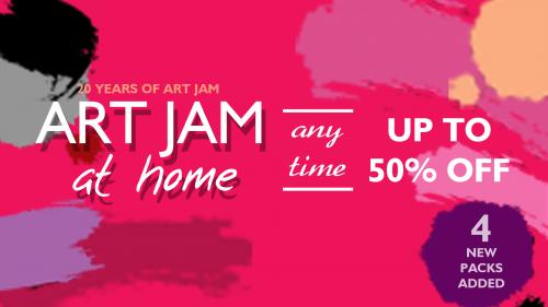 ART JAM at HOME